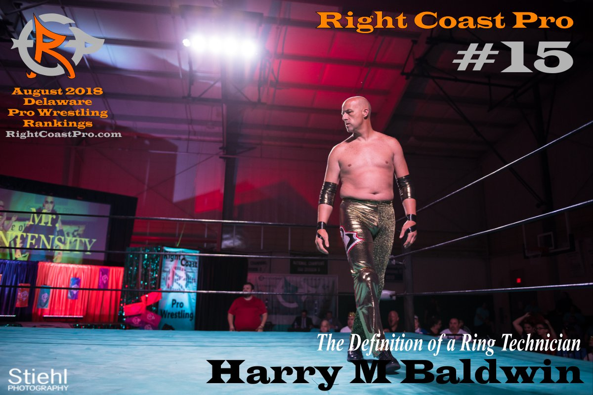 Number 15 August 2018 Rankings Delaware ProWrestling