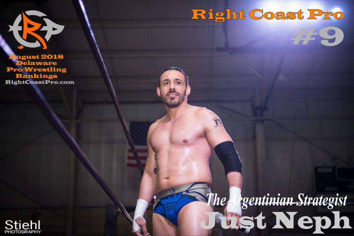 Number 9 August 2018 Rankings Delaware ProWrestling