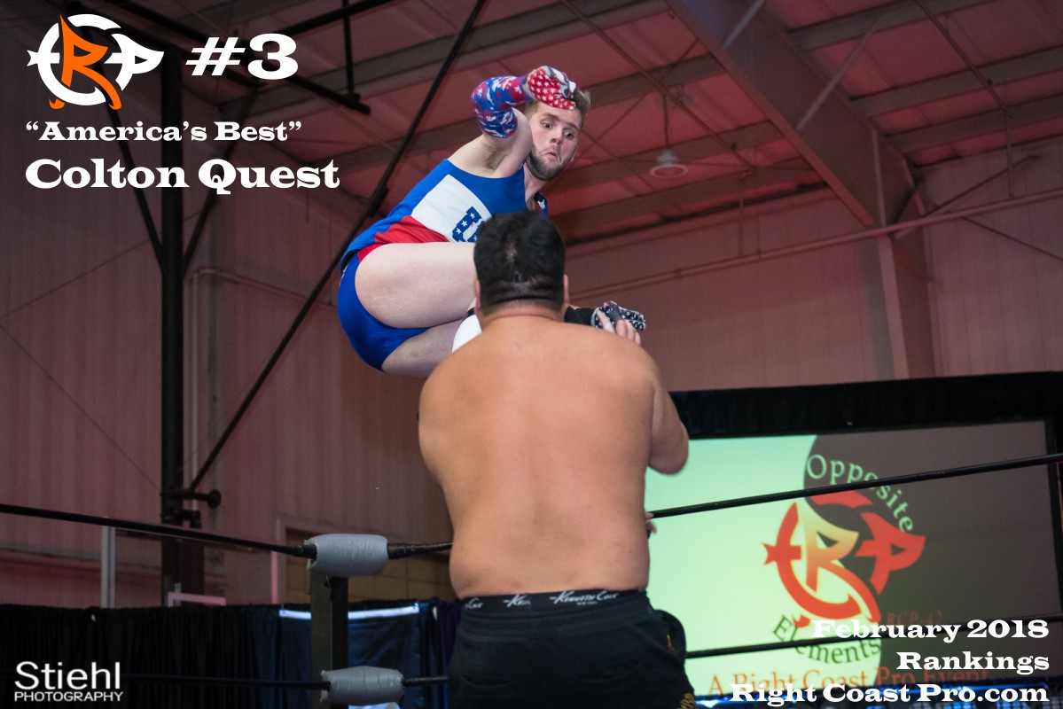 Number 3 January2018 Rankings Delaware ProWrestling Rankings
