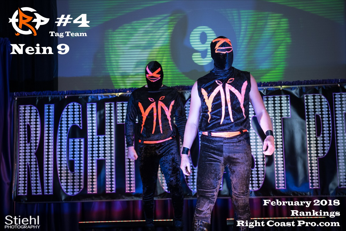 TagTeam Number 5 January2018 Rankings Delaware ProWrestling Rankings