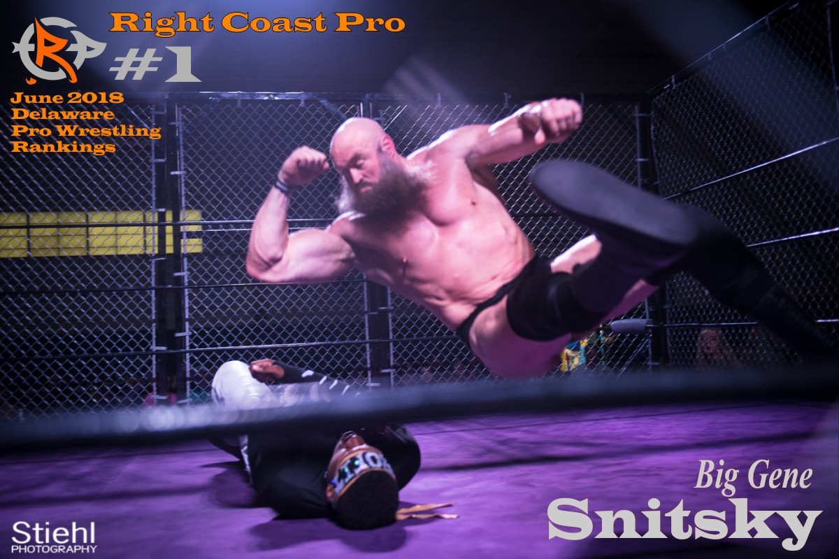 1 Snitsky June2018 Rankings RightCoastPro Wrestling Delaware
