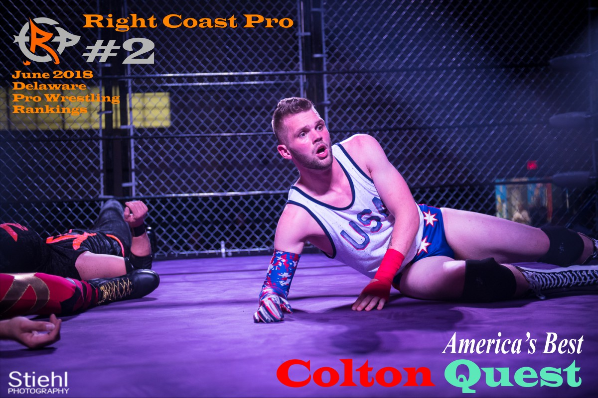 2 ColtonQuest June2018 Rankings RightCoastPro Wrestling Delaware