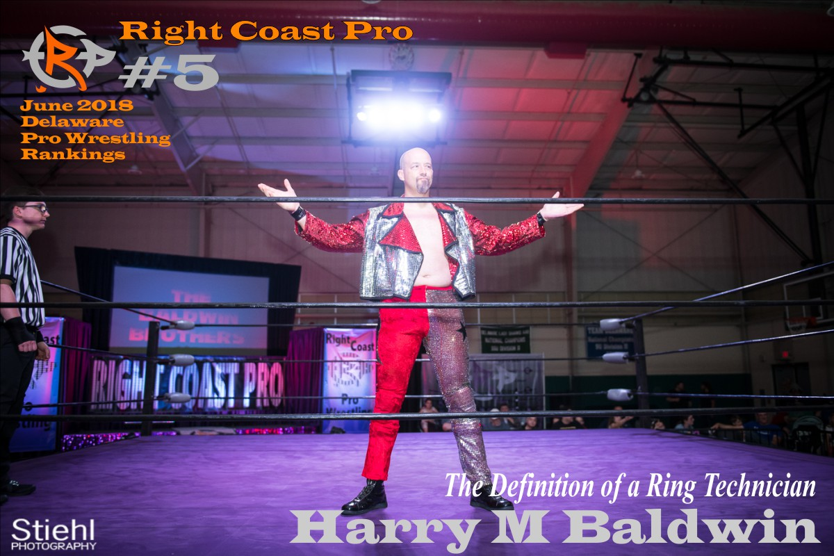5 HarryBaldwin June2018 Rankings RightCoastPro Wrestling Delaware
