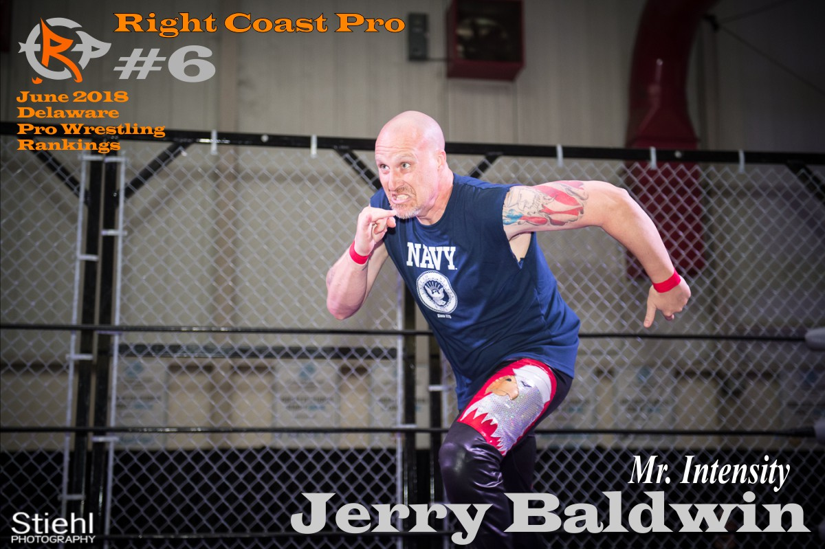 6 JerryBaldwin June2018 Rankings RightCoastPro Wrestling Delaware