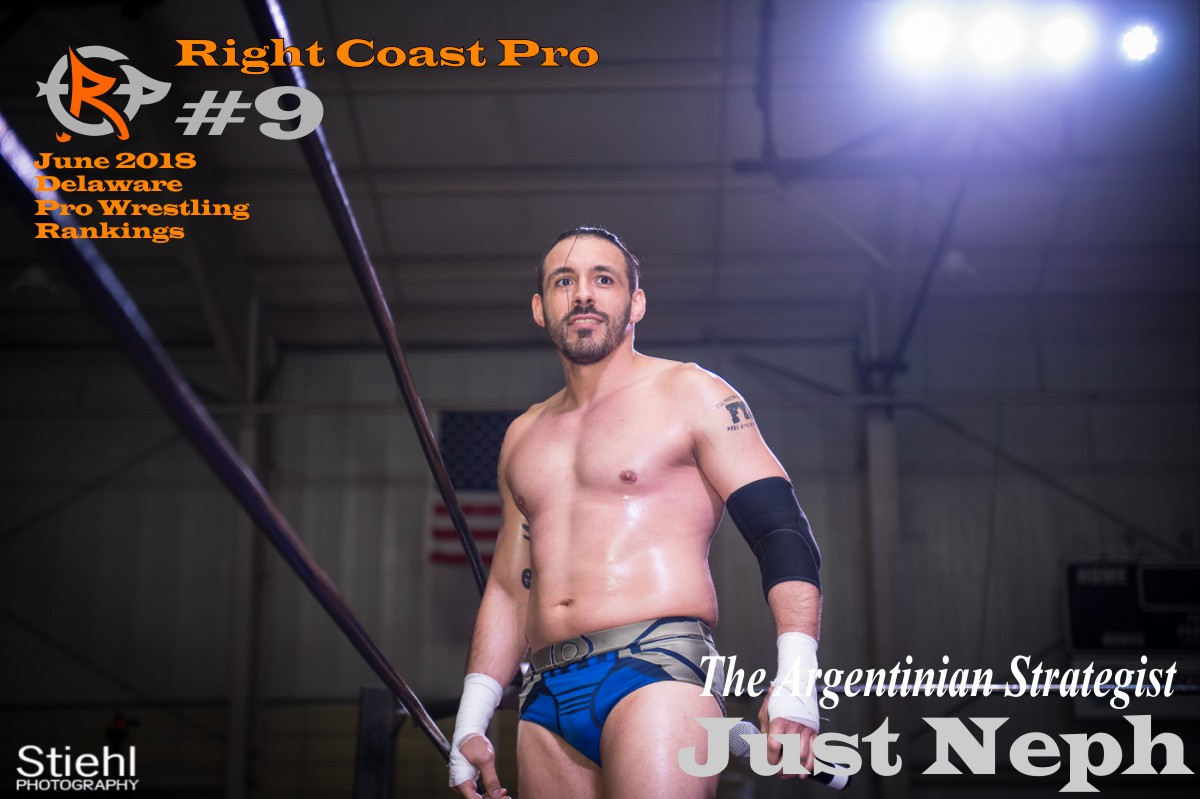 9 June2018 Rankings RightCoastPro Wrestling Delaware
