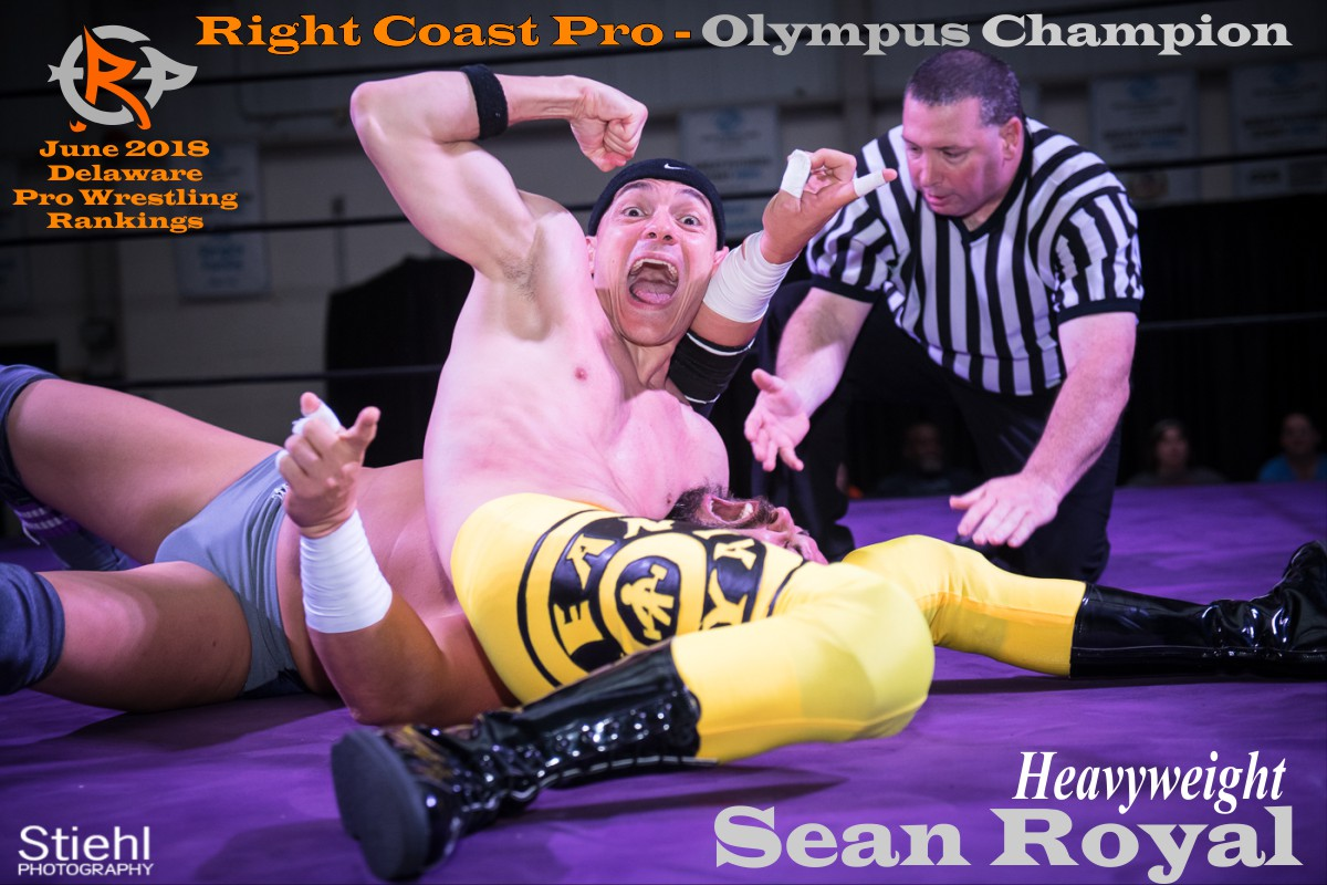 SeanRoyal June2018 Rankings RightCoastPro Wrestling Delaware