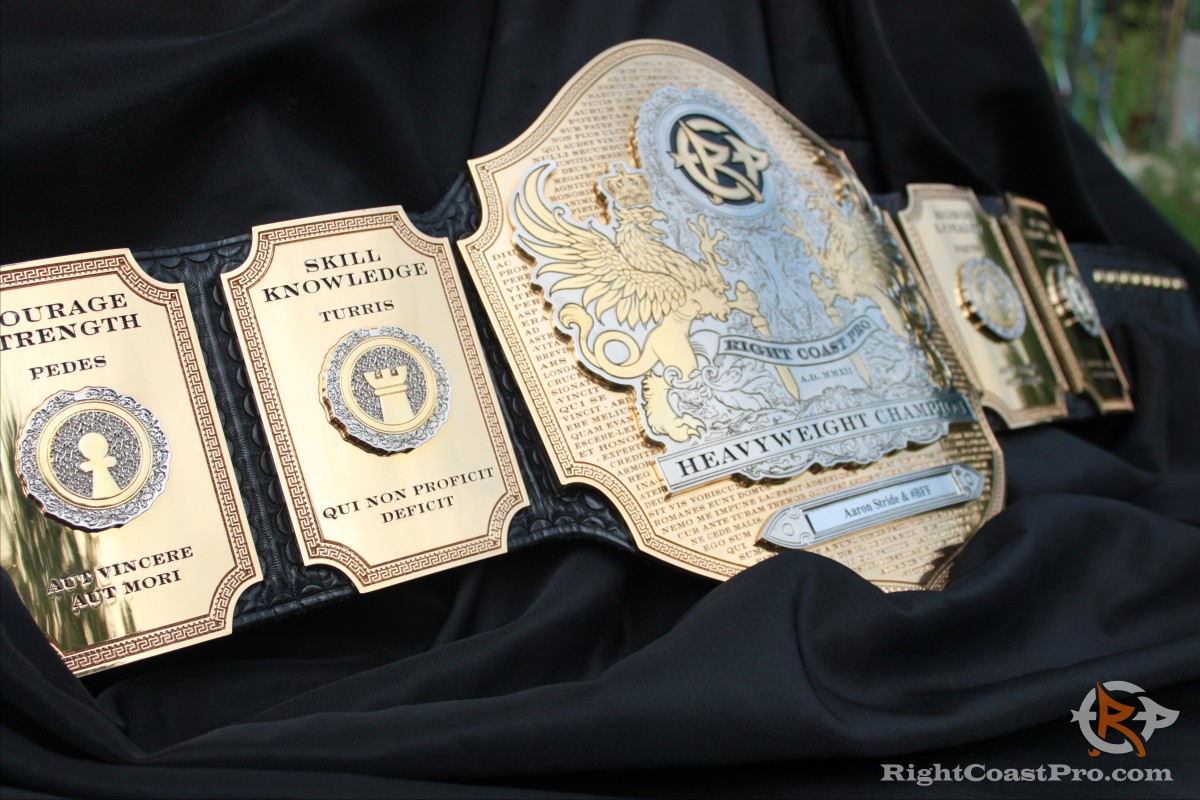 Heavyweight ChessBelt RightCoast Pro Wrestling Delaware