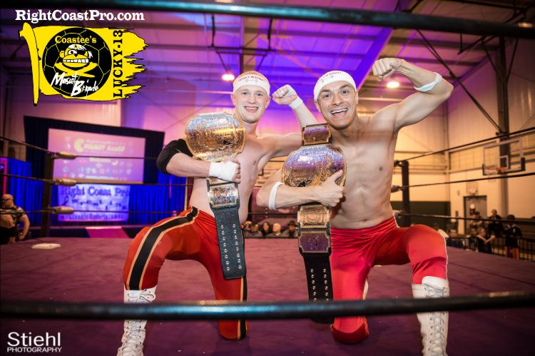 Heavyweights rcp30 MascotCoastee LUCKY13 RightCoastPro Wrestling Delaware