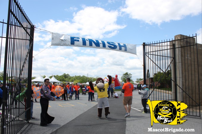 RightCoastPro MascotCoastee DSA Buddywalk Delaware finish