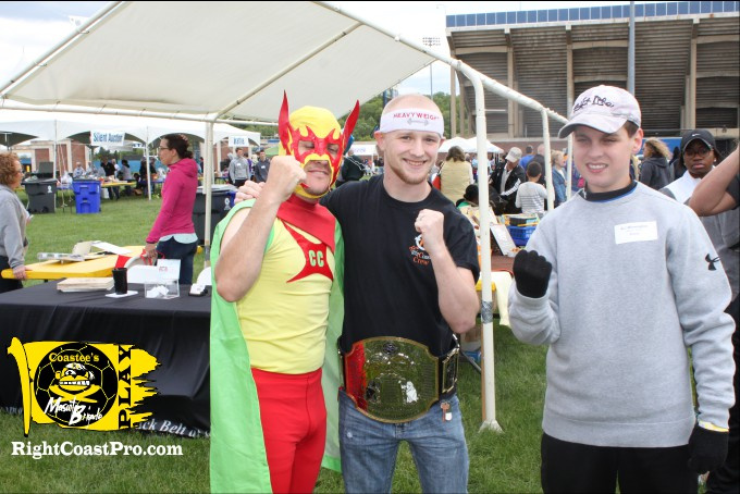 RightCoastPro MascotCoastee DSA Buddywalk Delaware superhero