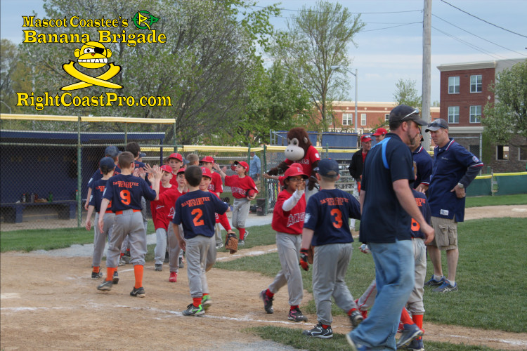 LittleLeague 3 Coastee Banana Brigade Delaware Renegade Training RightCoastPro Wrestling