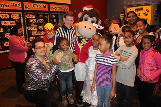 Greater Newark BoysGirls Club RightCoastPro Mascot Coastee Brigade 4
