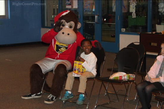 Greater Newark BoysGirls Club RightCoastPro Mascot Coastee Friends
