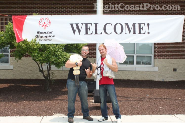 Special Olympics31 RightCoastPro Wrestling Delaware Sports Entertainment
