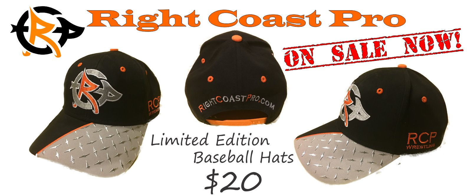 Baseball Hats RightCoastPro banner