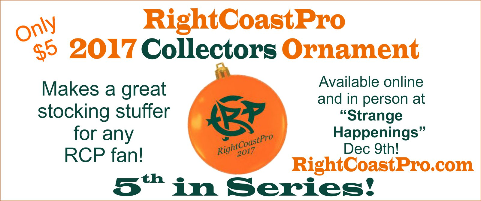 Header OrnamentMerchandise Page RightCoast Pro Wrestling Delaware