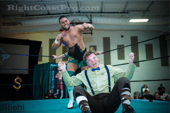 CHACHI 3 RCP16 RightCoastPro Wrestling Delaware Community Entertainment Event