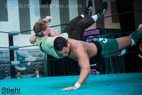 CHACHI 4 RCP16 RightCoastPro Wrestling Delaware Community Entertainment Event