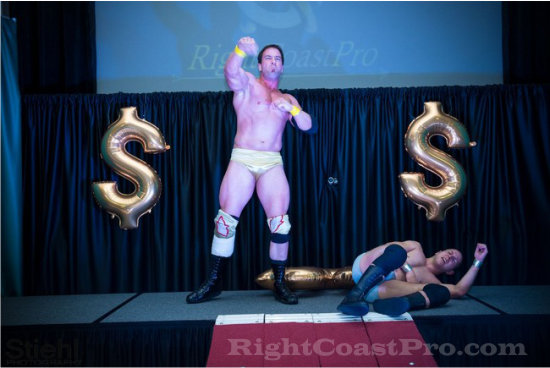 Joe 5 RCP16 RightCoastPro Wrestling Delaware Community Entertainment Event