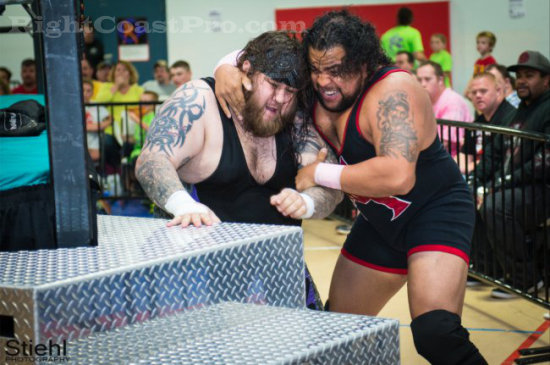 Mega 3 RCP16 RightCoastPro Wrestling Delaware Community Entertainment Event