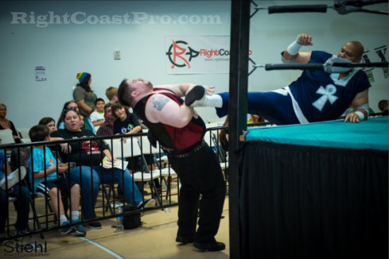 Mega 4 RCP16 RightCoastPro Wrestling Delaware Community Entertainment Event