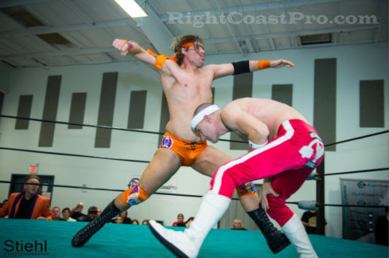 Stride 3 RCP16 RightCoastPro Wrestling Delaware Community Entertainment Event