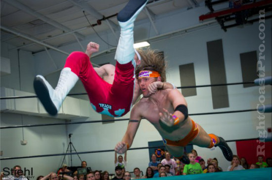 Stride 4 RCP16 RightCoastPro Wrestling Delaware Community Entertainment Event