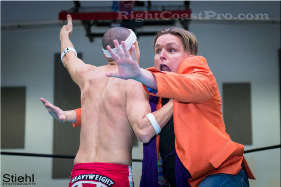 Stride 5 RCP16 RightCoastPro Wrestling Delaware Community Entertainment Event