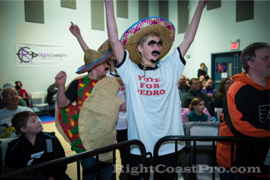 Fans 1 RCP18 RightCoastPro Wrestling Delaware Community Entertainment Event