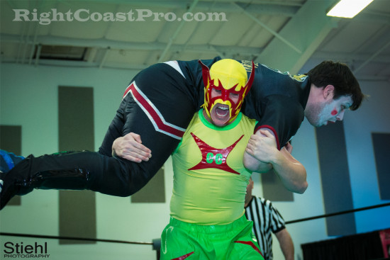 Monarchy 4 RCP18 RightCoastPro Wrestling Delaware Community Entertainment Event