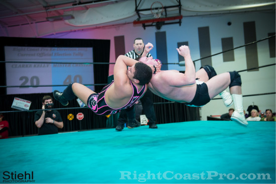 Mozart 1 RCP18 RightCoastPro Wrestling Delaware Community Entertainment Event