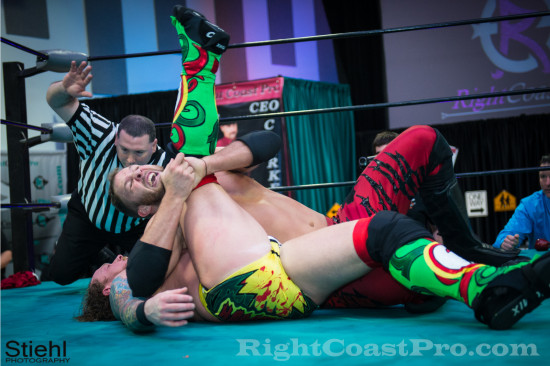Rush 5 RCP18 RightCoastPro Wrestling Delaware Community Entertainment Event