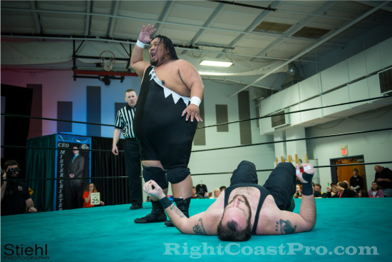 Sohlo 5 RCP18 RightCoastPro Wrestling Delaware Community Entertainment Event