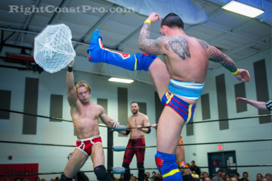 Steeler 3 RCP18 RightCoastPro Wrestling Delaware Community Entertainment Event