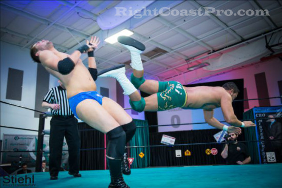 quest 2 RCP18 RightCoastPro Wrestling Delaware Community Entertainment Event