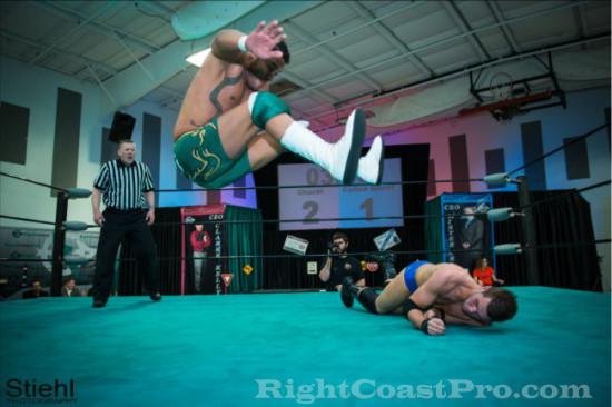 quest 4 RCP18 RightCoastPro Wrestling Delaware Community Entertainment Event