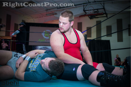 Ruby 2 RCP19 RightCoastPro Wrestling Delaware Community Entertainment Event