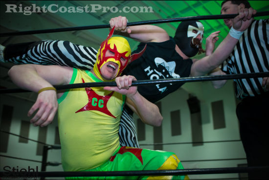 cruz 1 RCP19 RightCoastPro Wrestling Delaware Community Entertainment Event