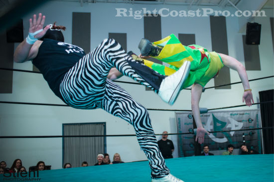 cruz 2 RCP19 RightCoastPro Wrestling Delaware Community Entertainment Event