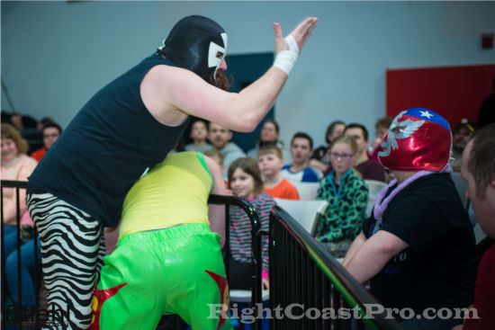 cruz 3 RCP19 RightCoastPro Wrestling Delaware Community Entertainment Event