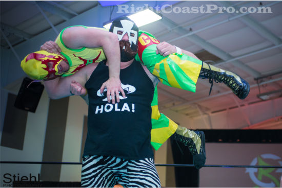cruz 4 RCP19 RightCoastPro Wrestling Delaware Community Entertainment Event