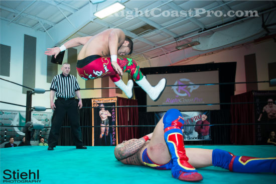 quest 4 RCP19 RightCoastPro Wrestling Delaware Community Entertainment Event