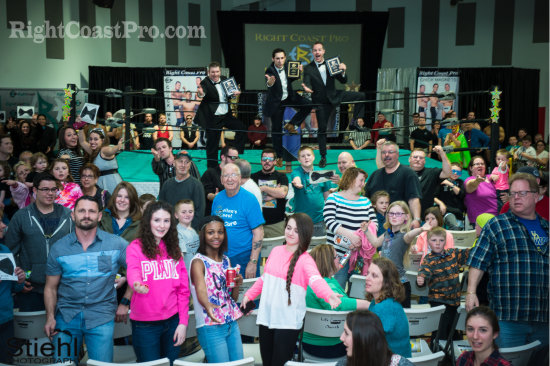 ChickMagnets 7 RCP20 HallofFame RightCoastPro Wrestling Delaware Community Entertainment Event