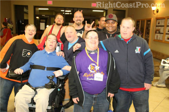 Coastee 2 RCP20 HallofFame RightCoastPro Wrestling Delaware Community Entertainment Event