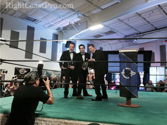 Stiehl 1RCP20 HallofFame RightCoastPro Wrestling Delaware Community Entertainment Event