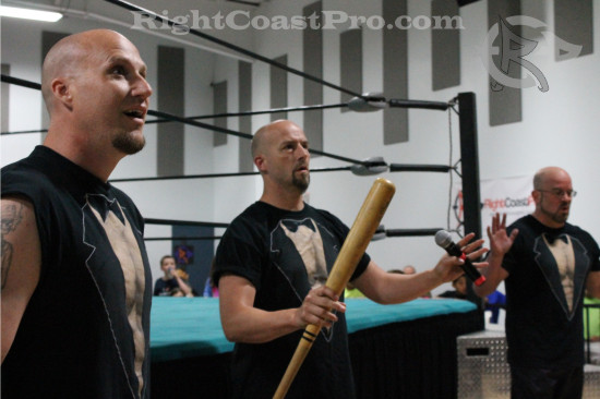 Baldwins2 RCP21 curveball RightCoastPro Wrestling Delaware Community Entertainment Event