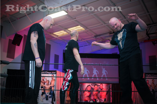 Baldwins6 RCP21 curveball RightCoastPro Wrestling Delaware Community Entertainment Event
