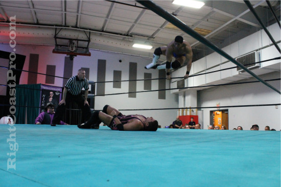 Bowens 3 RCP21 RightCoastPro Wrestling Delaware Community Entertainment Event