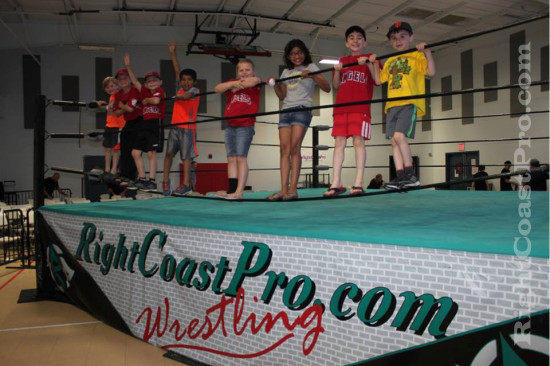 Fans 4 RCP21 curveball RightCoastPro Wrestling Delaware Community Entertainment Event