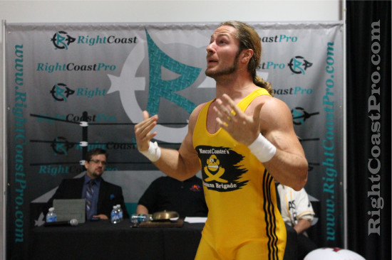 Gibbs Fontaine 1 RCP21 RightCoastPro Wrestling Delaware Community Entertainment Event